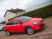 2013 FORD FOCUS ECO BOOST TURBO ZETEC*£30 ROAD TAX*LOVELY CAR*