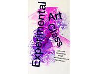 Experimental Art Class. Stirchley Birmingham.