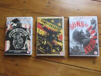 sons of anarchy dvds seasons 1-3