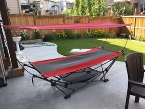 2 Hammocks with pillow & canopy $75 Each FIRM.