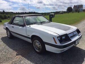 1986 Mustang GT Convertible