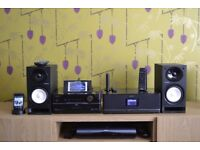 Sony Giga Juke NAS-S55HDE With NAS-C5E Wireless Station + 2x Remotes