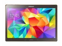 Samsung Tab S SM-T800 10.5 Titanium Bronze WiFi TABLET Like New