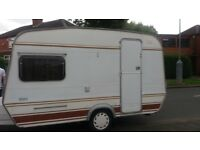 Abi Monza 4 berth caravan with full awning. Can deliver