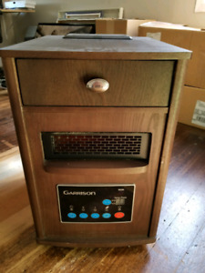 Portable infrared heater $80