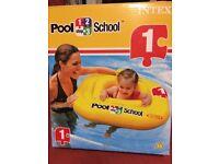 BNIB Intex pool 123 baby / toddler swimming aid
