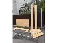 IKEA DOUBLE BED FRAME ** FREE DELIVERY AVAILABLE TODAY **