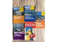 Pocket Holiday guides and phrasebook