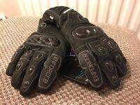 Spada Enforcer waterproof motorcycle gloves. Size small. £55