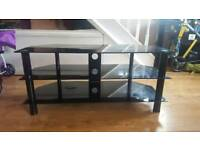 Tv stand- black gloss