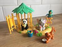 Vintage littlest pet shop zoo toy