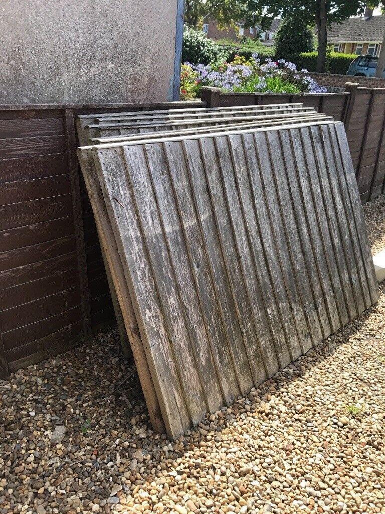 8x4ft fence panels in norwich norfolk gumtree 8x4ft fence panels baanklon Choice Image