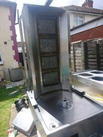 Archway doner burner machine