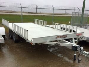 2016 Aluma Ltd. A8816 ATV Utility Trailer