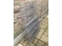 Free collapsible rabbit/small animal cage for garden