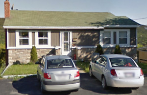 Large 3 Bedroom Main Floor Apartment in West End of St. John's.