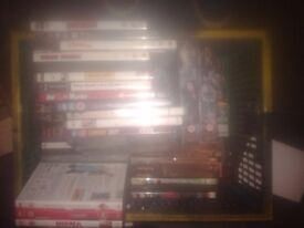 loads of Farscape box sets and over 20 other DVDs. £5