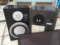 Sanyo DC X 891 Hifi Technics SB-3 50W (each) 2-way speakers