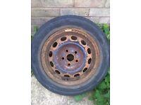 Ford galaxy mk2 steel wheel 195/65/15