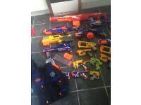 Nerf guns various