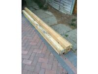 Wooden posts For sale.