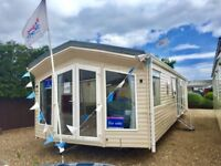 Luxury static caravan for sale in Norfolk, by the beach. Not Bedford.