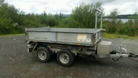 8 X 5 hudson electric tipping trailer dropsides good start trailer