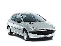 peugeot 206. VERY LOW MILEAGE. Good first car