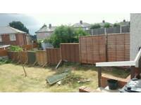 All used fencing £5