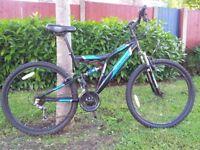 MuddyFox Shout Full Suspension Mountain Bike