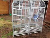 large double parrot cage