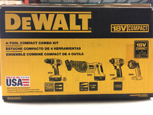 DEWALT NEW IN BOX 18V TOOLS 5 PIECES TOTAL MUST SEE