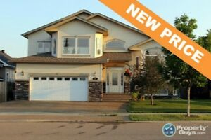 NEW PRICE! Incredible custom-built 2 storey home with 3250 sf