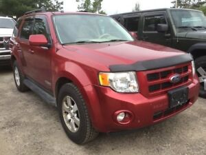 2008 Ford Escape Limited - WELL LOOKED AFTER