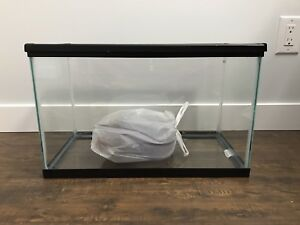 10 gallon reptile/fish tank