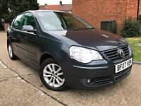 VOLKSWAGEN POLO 1.2** 1 LADY OWNER**FULL SERVICE HISTORY**2 KEYS**HPI CLEAR**