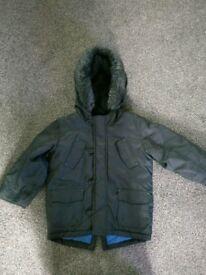 Boys M&S parker jacket