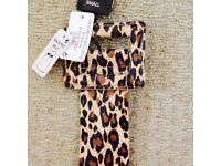 Leopard belt - Size small