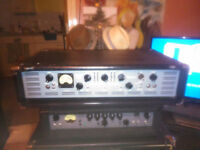 Ashdown Bass amp amplifier head EVO II 900 575W + 575W Great Condition