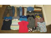 Big Bundle Of baby boy clothes 12-18 months