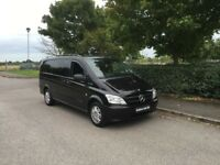 MERCEDES-BENZ VITO 2.1 116CDI Dualiner Long Panel Van 5dr (EU5) (black) 2011