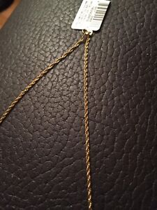 18 inch Singapore Chain in 14k Gold