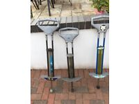 3 Pogo sticks. Buy 2 and get the third one free.