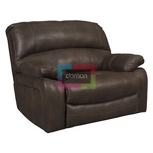 fauteuil inclinable brun