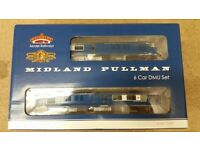 Bachmann 31-255DC Midland Pullman Nanking Blue 6 Car Set Factory DCC Fitted