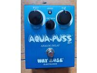 Way Huge Aqua-Puss - Analog Delay Pedal