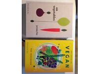 Vegan Cookbook and On Vegetables Book