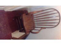 Beautiful Mahogany rocking chair