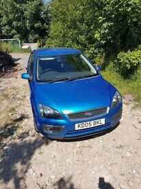 blue ford focus zetec climate