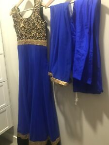 Moving sale - Indian anarkali suit - $80
